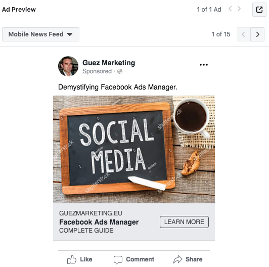 Demystifying Facebook Ads Manager | Guez Marketing